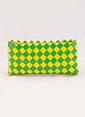 Çöpmadam Clutch / El Çantası Yeşil